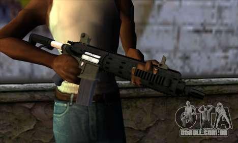 Carbine Rifle from GTA 5 v2 para GTA San Andreas terceira tela
