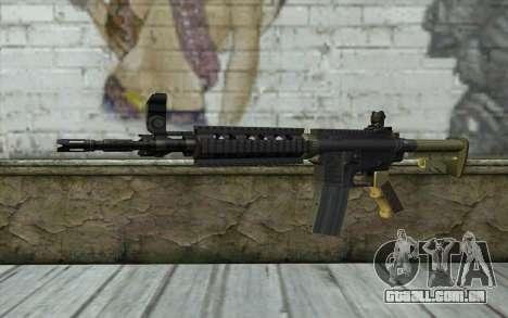 M4 MGS Iron Sight v1 para GTA San Andreas