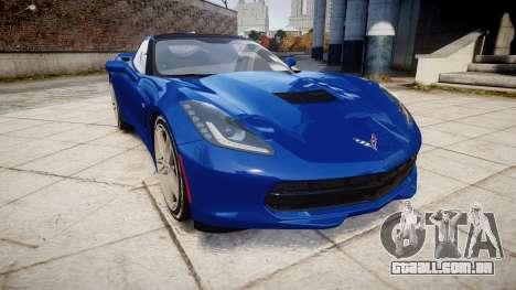 Chevrolet Corvette C7 Stingray 2014 v2.0 TireYA3 para GTA 4