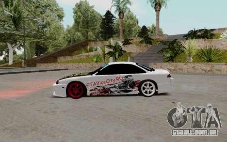 Nissan Silvia S14 VCDT para GTA San Andreas esquerda vista