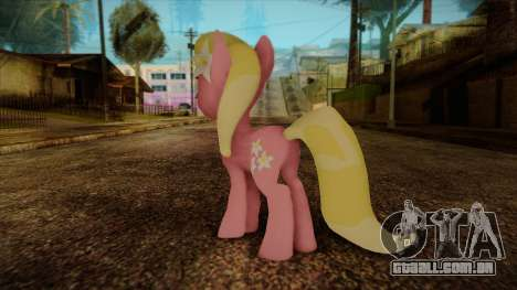 Lily from My Little Pony para GTA San Andreas segunda tela