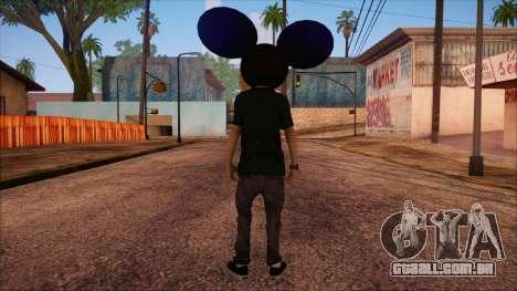 Deadmau5 Skin para GTA San Andreas segunda tela