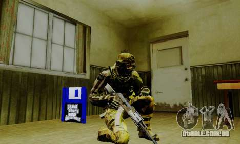 Weapon pack from CODMW2 para GTA San Andreas décimo tela