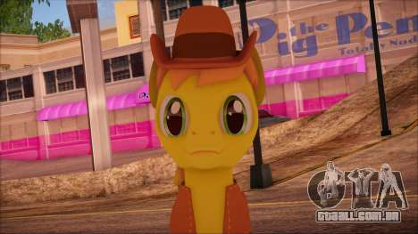 Braeburn from My Little Pony para GTA San Andreas terceira tela