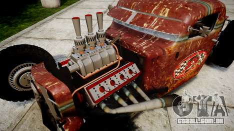 Dumont Type 47 Rat Rod PJ2 para GTA 4 vista de volta