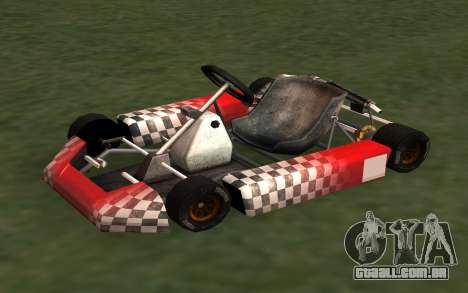 Atualizado Kart para GTA San Andreas para GTA San Andreas