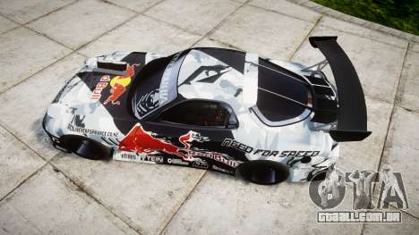 Mazda RX-7 Mad Mike para GTA 4 vista direita