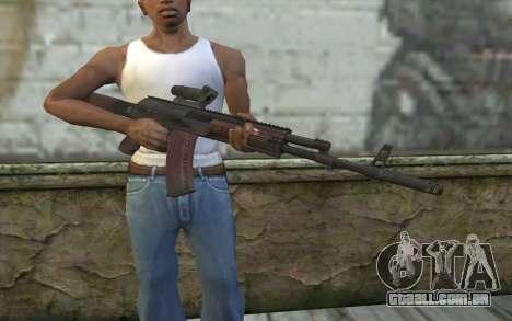 AEK from Battlefield 4 para GTA San Andreas terceira tela