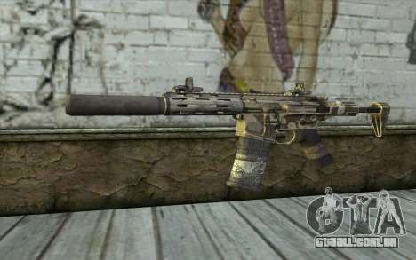 HoneyBadger from CoD Ghosts para GTA San Andreas