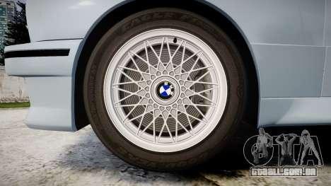 BMW M3 E30 1991 [EPM] para GTA 4 vista de volta