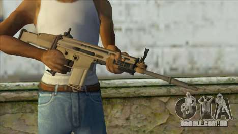 AK12 from Battlefield 4 para GTA San Andreas terceira tela