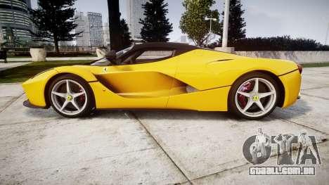 Ferrari LaFerrari [EPM] v1.2 para GTA 4 esquerda vista
