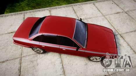 Vapid Stanier Rims Minivan para GTA 4 vista direita