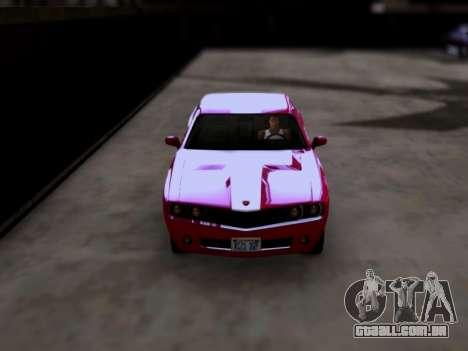 Bravado Gauntlet GTA 5 para GTA San Andreas vista direita