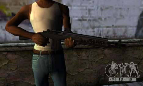 Rifle from State of Decay para GTA San Andreas terceira tela