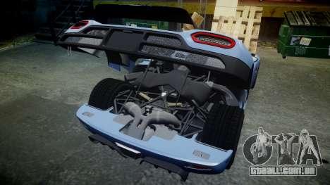 Koenigsegg Agera 2011 [EPM] [Update] para GTA 4 vista interior