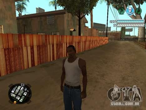 Respect C-HUD para GTA San Andreas