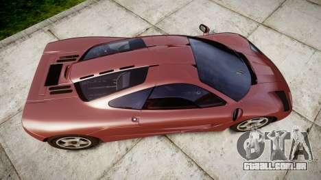 Mclaren F1 1993 [EPM] para GTA 4 vista direita