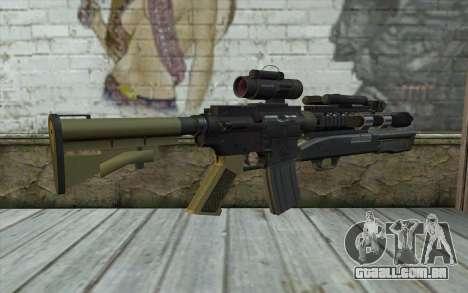M4 MGS Aimpoint v3 para GTA San Andreas segunda tela