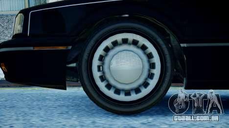 Primo Continental para GTA 4 traseira esquerda vista