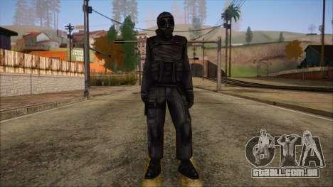 SAS from Counter Strike Condition Zero para GTA San Andreas