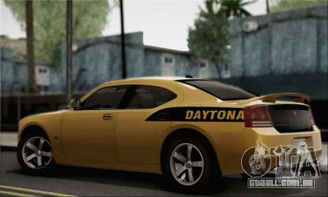 Dodge Charger SuperBee para GTA San Andreas esquerda vista
