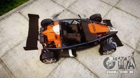 Ariel Atom V8 2010 [RIV] v1.1 SptCar para GTA 4 vista direita