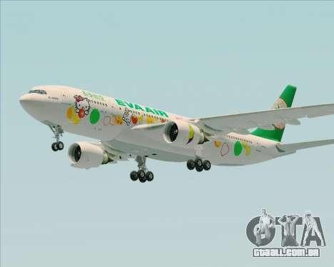 Airbus A330-200 EVA Air (Hello Kitty) para GTA San Andreas