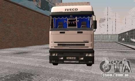 Iveco EuroTech para GTA San Andreas esquerda vista