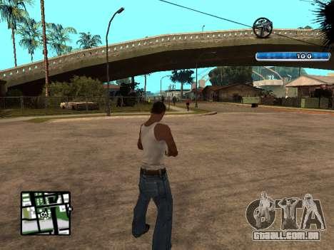 C-HUD by SampHack v.17 para GTA San Andreas segunda tela