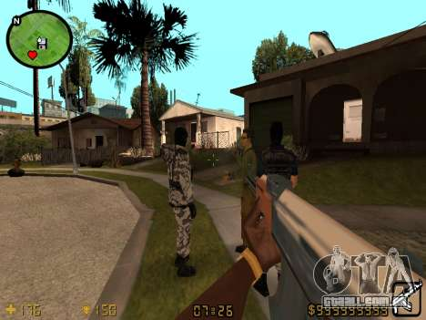Counter-Strike HUD para GTA San Andreas