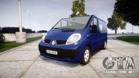 Renault Trafic Passenger para GTA 4