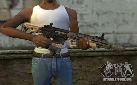 SIG-556 para GTA San Andreas terceira tela