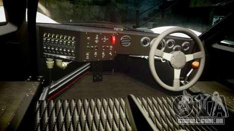 Ford GT40 Mark IV 1967 PJ Meyer 30 para GTA 4 vista de volta