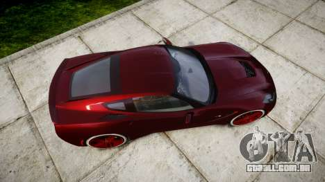 Chevrolet Corvette C7 Stingray 2014 v2.0 TireKHU para GTA 4 vista direita