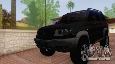 UAZ Patriota para GTA San Andreas