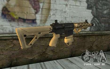 AR-25c para GTA San Andreas segunda tela