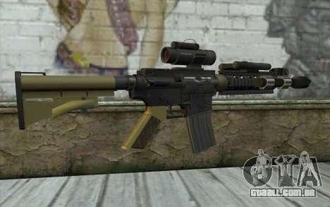 M4 MGS Aimpoint v2 para GTA San Andreas segunda tela