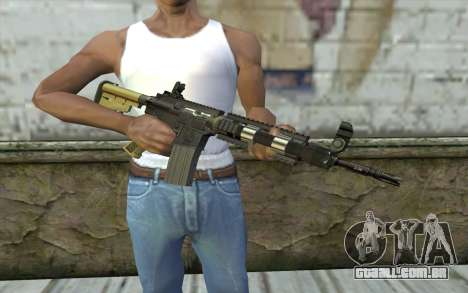 M4 MGS Iron Sight v1 para GTA San Andreas terceira tela
