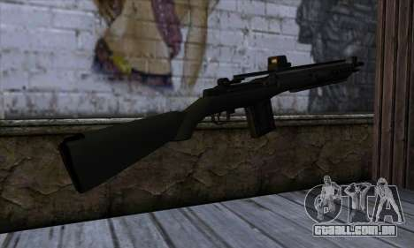 Rifle from State of Decay para GTA San Andreas segunda tela