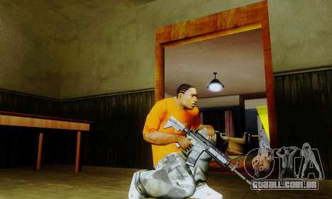 Weapon pack from CODMW2 para GTA San Andreas por diante tela
