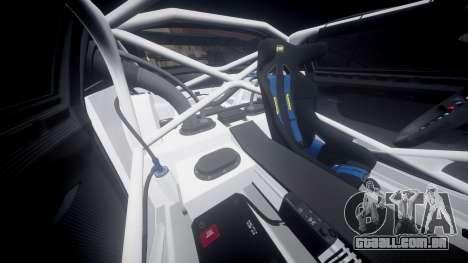 BMW Z4 GT3 2014 Goodsmile Racing para GTA 4 vista lateral