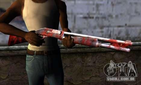 Chromegun v2 Apocalipse colorir para GTA San Andreas terceira tela