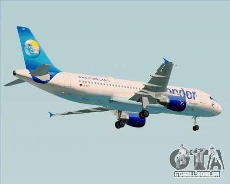 Airbus A320-200 Condor para GTA San Andreas vista inferior
