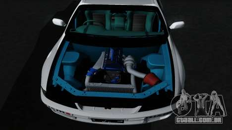 Nissan Skyline GT-R33 para GTA San Andreas vista inferior