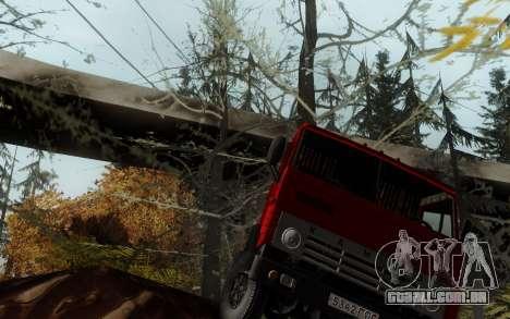 Pista de off-road 3.0 para GTA San Andreas por diante tela