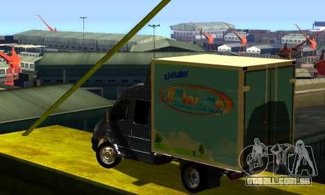 Gazela 33023 para GTA San Andreas vista direita