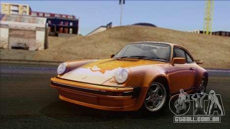 Porsche 911 Turbo 1982 Tunable KIT C PJ para GTA San Andreas
