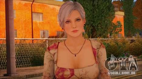 Modern Woman Skin 1 para GTA San Andreas terceira tela