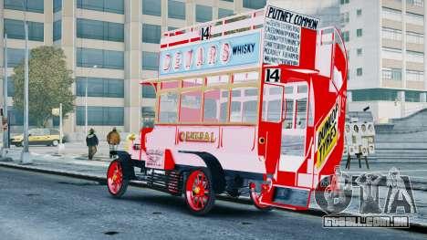 London Bus para GTA 4 esquerda vista